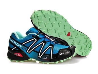 Mens Strl Eu 44 Salomon speedcross3 skor blue