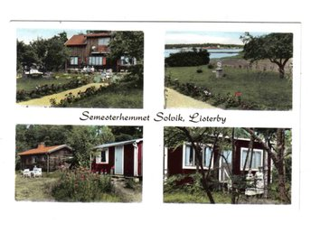 Listerby - Semesterhemmet Solvik, flerbildsvy - Segeltorp - Listerby - Semesterhemmet Solvik, flerbildsvy - Segeltorp
