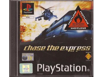 CHASE THE EXPRESS - PS1 - Fint skick