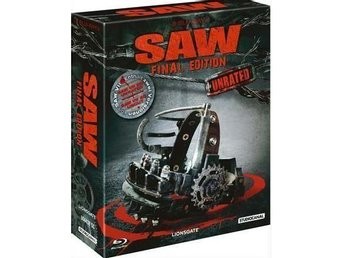 SAW 1 - 7 (LMTD DIGIPACK Blu-ray) 8 Disc! Uncut (Rare) Complete Collection