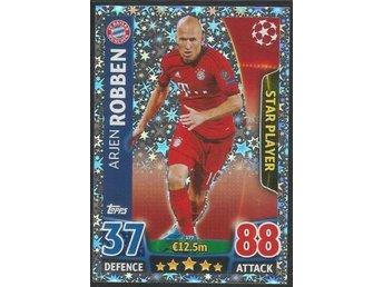 ROBBEN - BAYERN MUNCHEN - 2015-16 Topps MA Champions League - # 177 - åmål - ROBBEN - BAYERN MUNCHEN - 2015-16 Topps MA Champions League - # 177 - åmål
