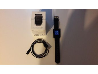 Pebble Smartwatch (Svart)