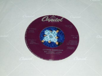 BEATLES GEORGE HARRISON My sweet Lord US -88 No. XII - Skebobruk - BEATLES GEORGE HARRISON My sweet Lord US -88 No. XII - Skebobruk