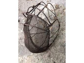 Original Vintage Wire Mesh Fencing Mask Interior Design Lamp Ideas Steampunk