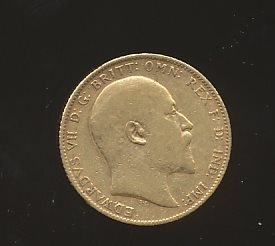 England  1 Sovereign 1906  se bild