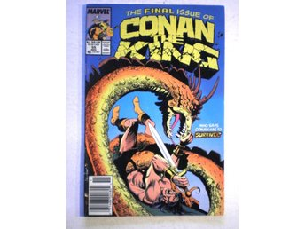 US Marvel - Conan the King # 55 - Fine