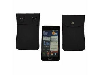 Fresh Large Smartphone Bag (Svart)