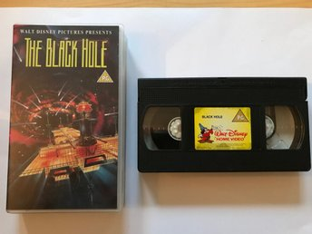 VHS The Black Hole - Sci-Fi