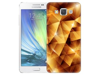 Samsung Galaxy A5 (2015) Skal Golden Polygons