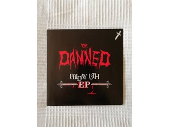 The Damned - Friday 13th EP (1981).