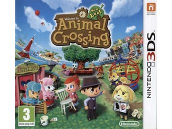 Animal Crossing: New Leaf (Originalutgåva) (Beg)