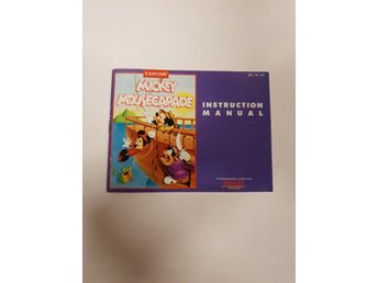 Mickey Mousecapade - Manual NES NINTENDO - USA