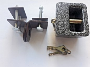 Hänglås  &Hänglåsbeslag/  Huge Steel Padlock Shell With Hasp /10mm Bolt