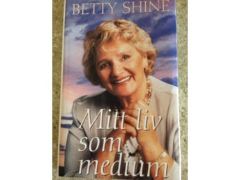 "Bok ""Mitt liv som medium"" av Betty Shine."