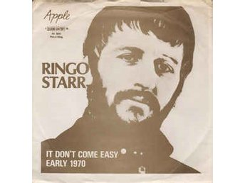 Ringo Starr - It don´t come easy, singel från 1971 på Apple