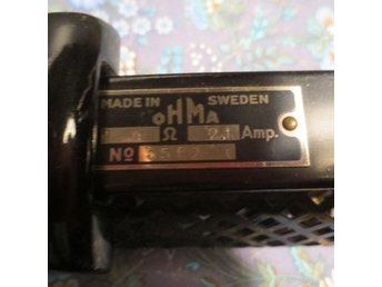 Ohma made in sweden 2,1 amp no 5562