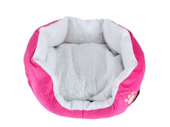 Small Size Fleece Soft Warm Dog Cat Mats Bed Pad