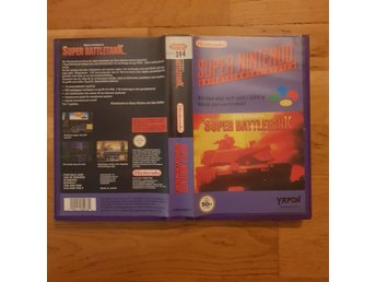 Super Battletank - Hyrbox - Super Nintendo Yapon SNES