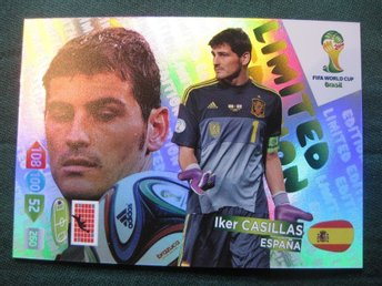 LIMITED EDITION - IKER CASILLAS - SPANIEN - FIFA WORLD CUP BRASIL 2014