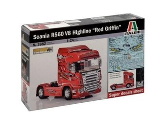 "Italeri 1/24 SCANIA R560 HIGHLINE ""RED GRIFFIN"""