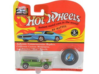 The Denom Green Hot Wheels #5730 25th Anniversary Collector's Edition