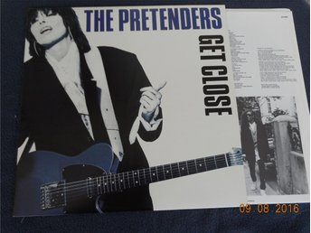 THE PRETENDERS - Get close,  LP Kanada 1986