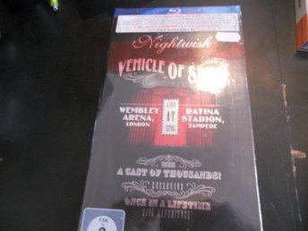 Bluray Nightwish - Vehicle of NY BILLIG!!! 2-disc - Kristianstad - Bluray Nightwish - Vehicle of NY BILLIG!!! 2-disc - Kristianstad