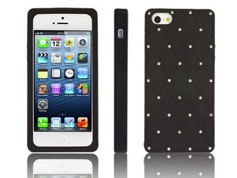Diamonds for Girl`s-Mobilskal Iphone 5/5S -Svart