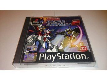 PLAYSTATION SONY PS1 GUNDAM BATTLE ASSAULT 2 BEGAGNAD I FINT SKICK