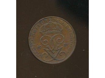 5 öre 1927 Sverige Gustav V - Västra Frölunda - 5 öre 1927 Sverige Gustav V - Västra Frölunda