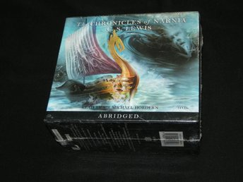 C.S. LEWIS `CHRONICLES OF NARNIA´ 14 CD BOX. Engelsk