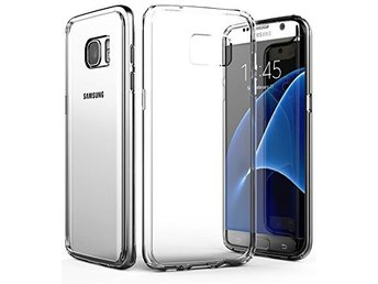 Transparent TPU skal - Galaxy S7