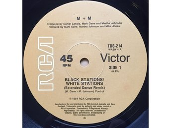 "M+M – Black stations/White stations (RCA 12"")"