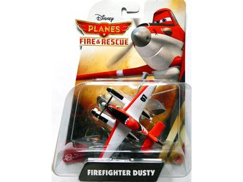 Dusty Firefighter - Disney Planes 2 Original Metal