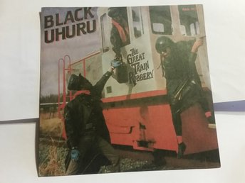 "Black Uhuru ""The great Train Robbery""  singel, 7"" 1986"