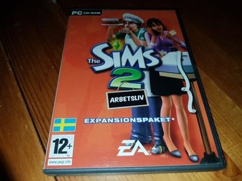 The Sims 2. Arbetsliv. Exp paket. Pc spel.