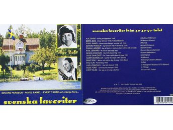 Svenska favoriter, Div artister (CD)