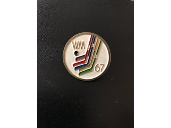 Hockey WM 1967 Wien pin