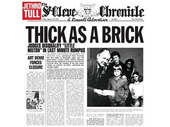 Jethro Tull: Thick as a brick 1972 (2012/Rem) (CD)