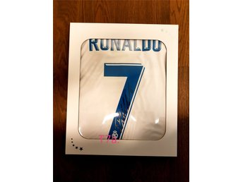 Rare Historical CR7 Real Madrid Original Signed Jersey - Last ever worn by CR7