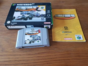F-1 WORLD GRAND PRIX N64 BEG