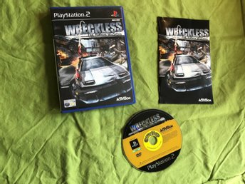 WRECKLESS THE YAKUZA MISSIONS PS2 PLAYSTATION 2