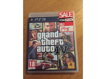 Playstation 3 Grand theft auto 4