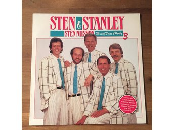 STEN & STANLEY - MUSIK, DANS & PARTY 3. (LP)