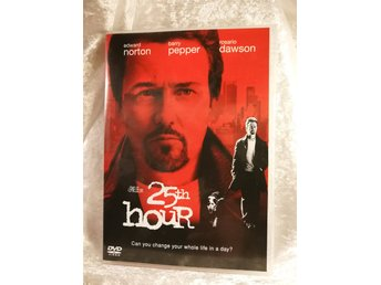 DVD 25th Hour (Spike Lee, Edward Norton, Rosario Dawson, Philip Seymour Hoffman)
