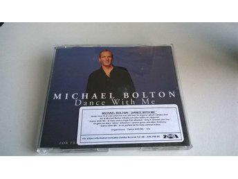 Michael Bolton ‎– Dance With Me, CD, Single, Promo