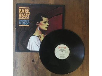Dark Heart - Shadows Of The Night LP | heavy metal hårdrock