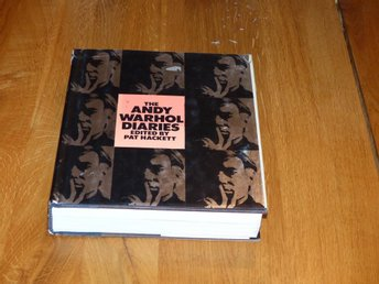 The Andy Warhol Diaries 1989 1:a upplaga