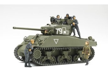 Tamiya 1/35 M4A2(76W) Sherman Red Army w/figures - Lund - Tamiya 1/35 M4A2(76W) Sherman Red Army w/figures - Lund