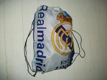 real madrid, fotboll, gympåse, ryggsäck, bag, spanien, ronaldo - Jönköping - real madrid, fotboll, gympåse, ryggsäck, bag, spanien, ronaldo - Jönköping